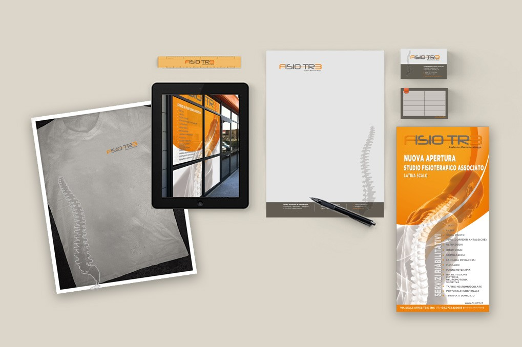 Fisiotr3 | Branding | Corporate Identity | Advertising