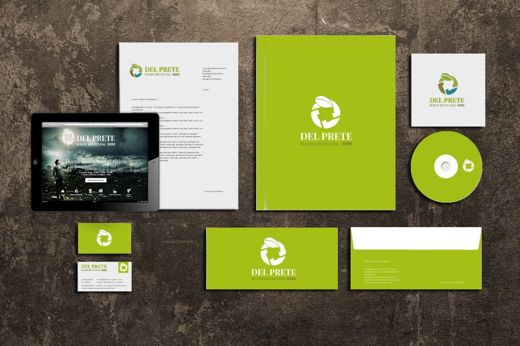 Del Prete Waste Recycling | Branding | Corporate Identity | Advertising | Web | Design & Print