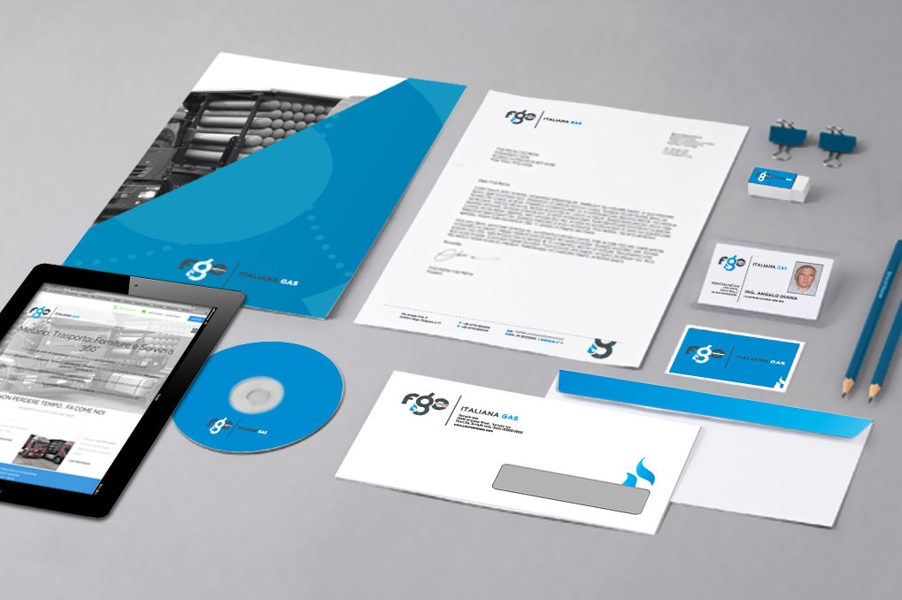 Fge Italiana Gas | Branding | Corporate Identity | Advertising | Web